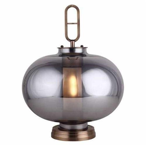 Luminária Metal/Vidro 40x53cm - Occa Moderna