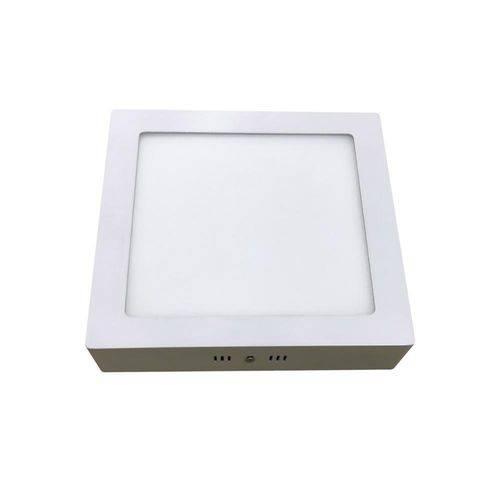 Luminária Painel Led de Sobrepor Quadrada Home 24w 6000k Bivolt Branca