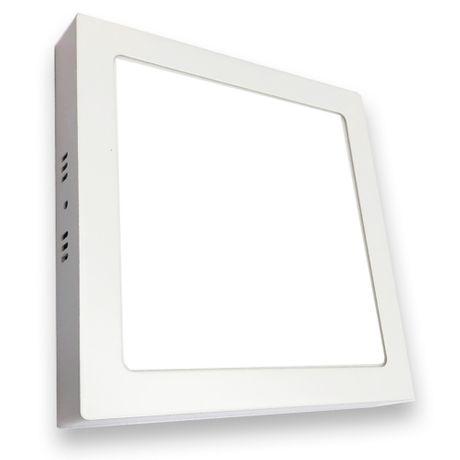 Plafon Painel Smart Led Sobrepor 12w Branco Frio