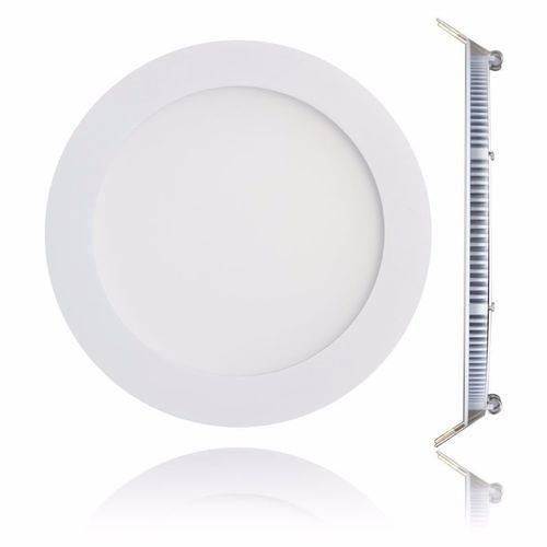 Luminária Plafon 12w Led Embutir Branco Frio