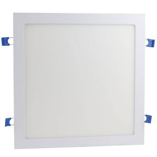 Luminaria Plafon 24w Led Embutir Branco Quente