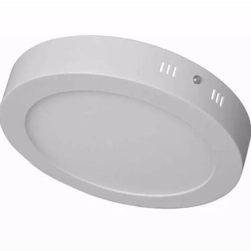 Luminária Plafon Sobrepor Redondo 18W 3000K Branco Quente - Startec