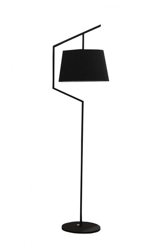 Luminária Soho Ferro Preto 200x60 - Occa Moderna