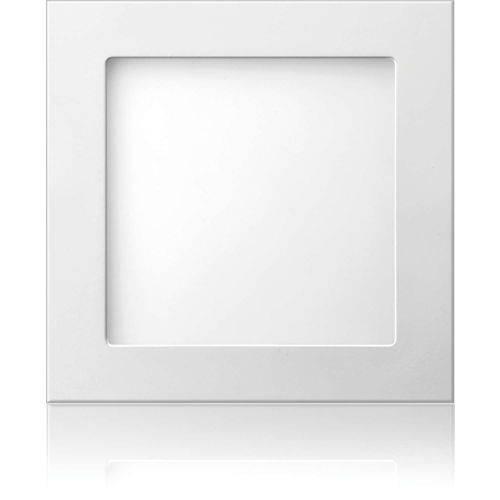 Luminarias Led Quadrada 12w Embutir 6500k Elgin Unidade