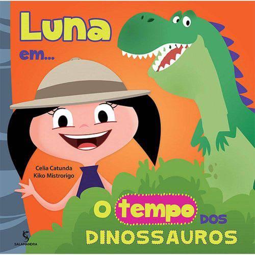 Luna em o Tempo dos Dinossauros - Salamandra