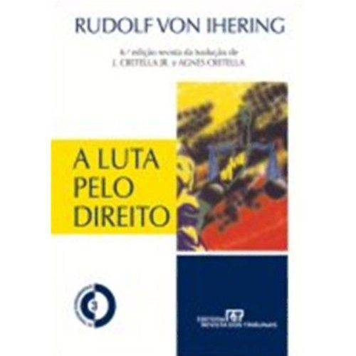 Luta Pelo Direito, a - 6ª Ed. 2010
