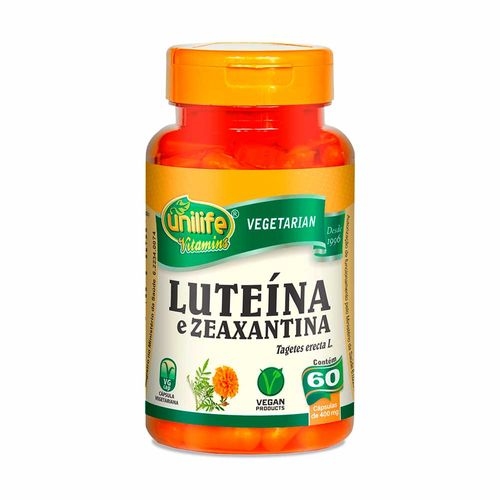 Luteína e Zeaxantina - Unilife - 60 Cápsulas de 400mg