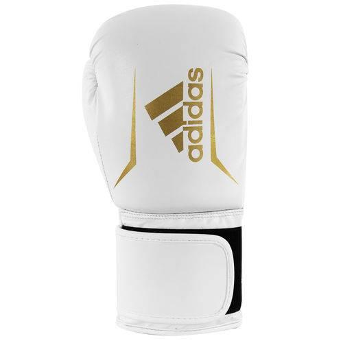 Luva Adidas Speed 50 Plus Branco com Dourado 12 OZ