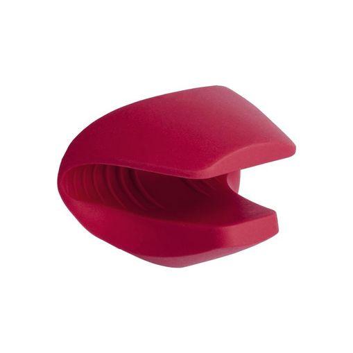 Luva de Silicone Vermelha com Bico para Formas Euro