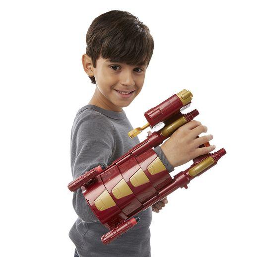 Luva Protetora com Lançador Avengers Homem de Ferro - Hasbro