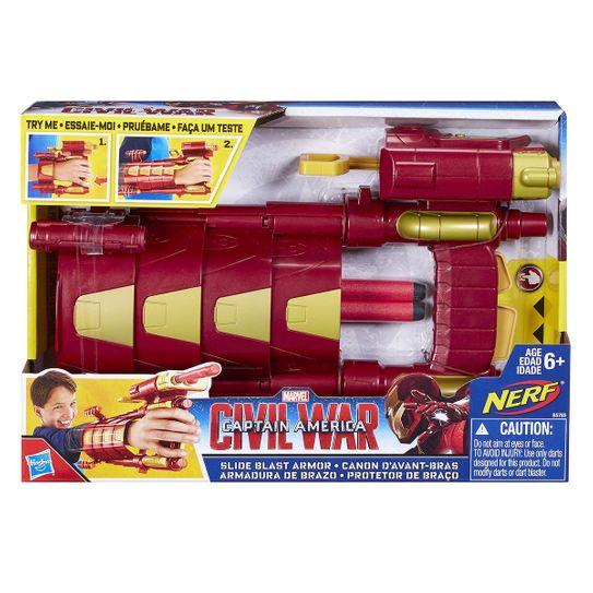 Luva Protetora com Lançador Homem de Ferro - Guerra Civil