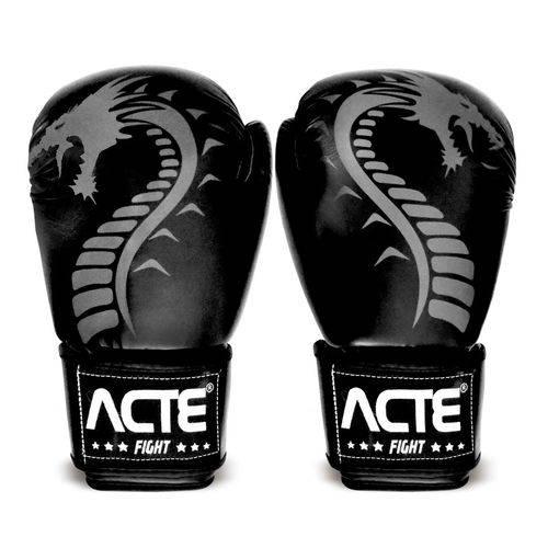 Luvas de Boxe Dragon P3 Acte Sports - Preto 14oz