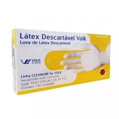 Luvas Latex Volk Descartavel G C/100