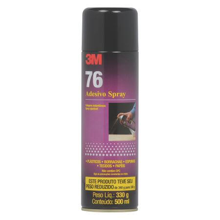 3M Adesivo 76 Spray 500 Ml 330 Gr
