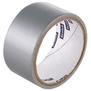 3m Fita Adesiva Silver Tape 45mmx5m Cinza
