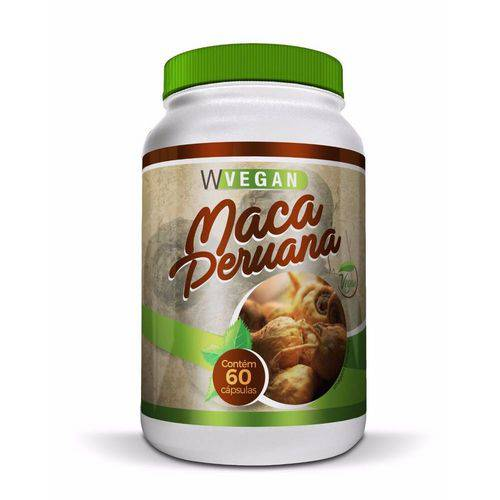 Maca Peruana 500mg Wvegan 60 Cápsulas - Mais Nutrition