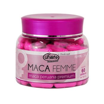 Maca Peruana Premium Femme Unilife 60 Cápsulas