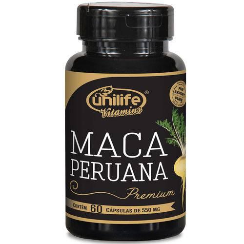Maca Peruana Premium Pura 550 Mg - 120 Caps Unilife