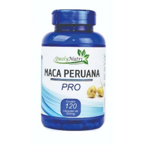 Maca Peruana Pro 550mg 120 Capsulas
