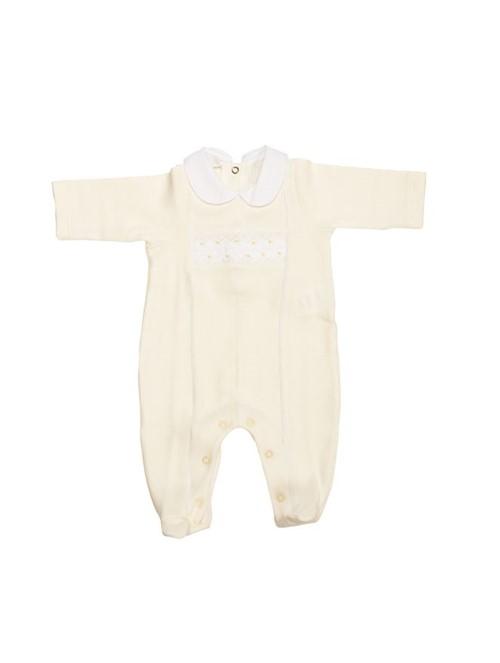Macacão Cotton Baby Amarelo Tamanho M