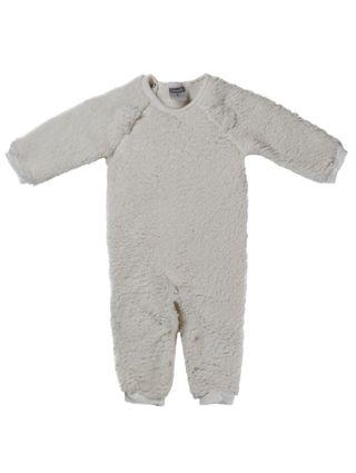 Macacão Infantil para Bebê Menina - Off White