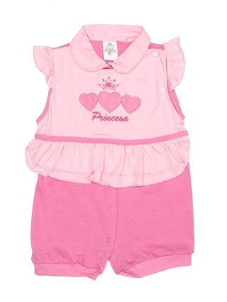 Macacão Infantil para Bebê Menina - Rosa