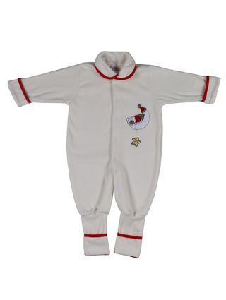 Macacão Infantil para Bebê Menino - Off White