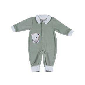 Macacão Infantil para Bebê Menino - Verde M