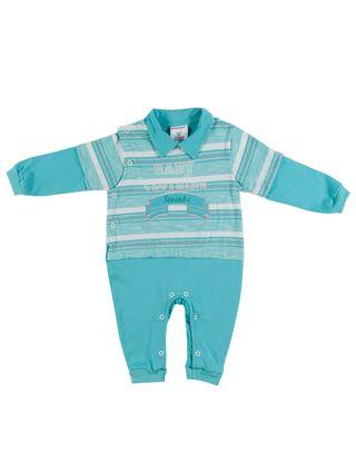 Macacão Infantil para Bebê Menino - Verde