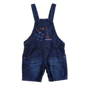 Macacão Jeans Infantil para Menino - Azul 1
