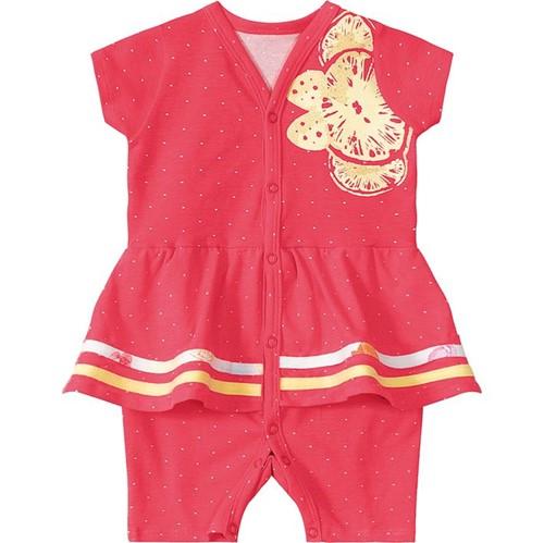 Macacão Lilica Ripilica Vermelho Bebê Menina