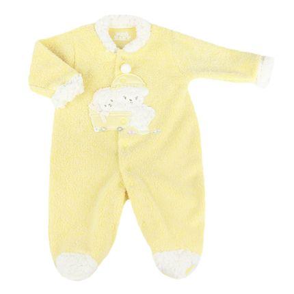 Macacão Ovelha com Bebê - Amarelo - ProBaby-G