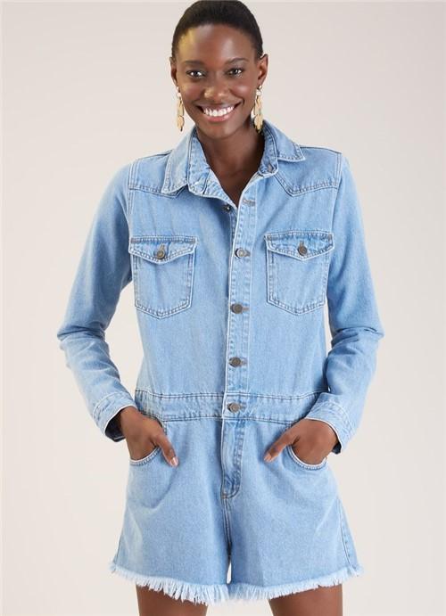 Macaquinho Jeans Rocky Jeans 34