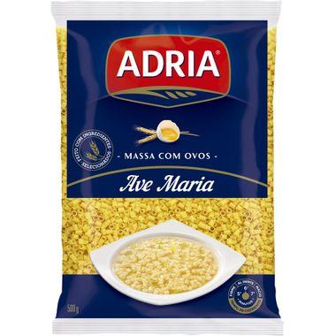 Macarrão com Ovos Adria Ave Maria 500g