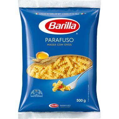 Macarrão com Ovos Barilla Parafuso 500g