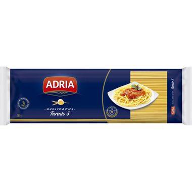 Macarrão com Ovos Espaguete Furado 5 Adria 500g