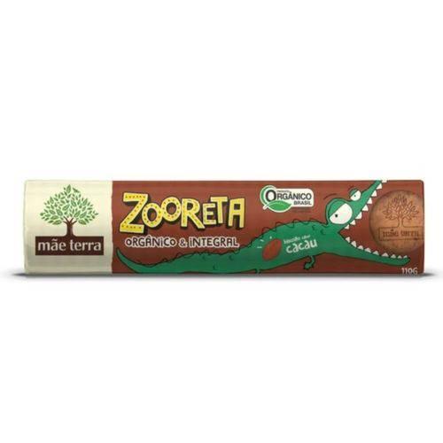 Mãe Terra Zooreta Biscoito Orgânico Integral Cacau 110g