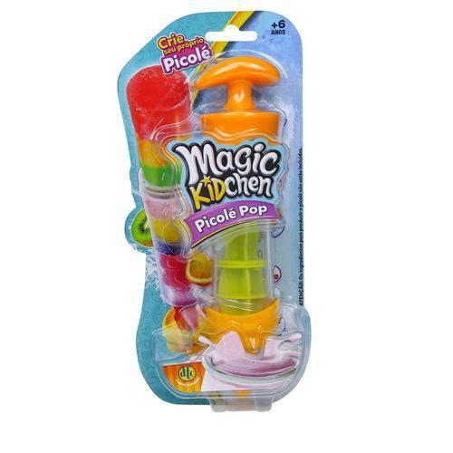 Magic Kidchen - Picolé Pop - Laranja e Amarelo - Dtc