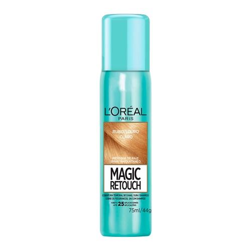 Magic Retouch L'oréal Louro Claro Spray Instantâneo para Retoque de Raiz 75ml