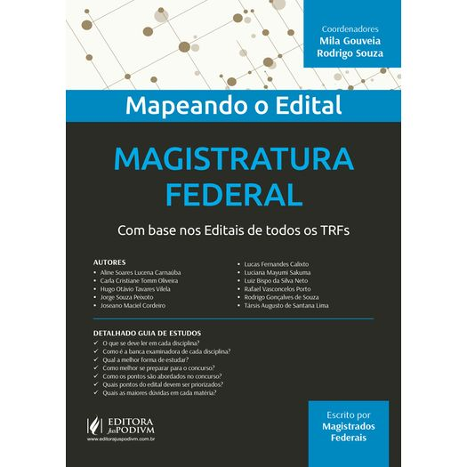 Magistratura Federal - Juspodivm - 1 Ed