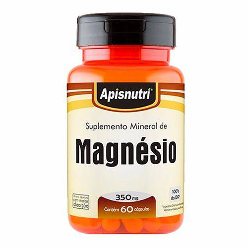 Magnésio - 60 Cápsulas - Apisnutri