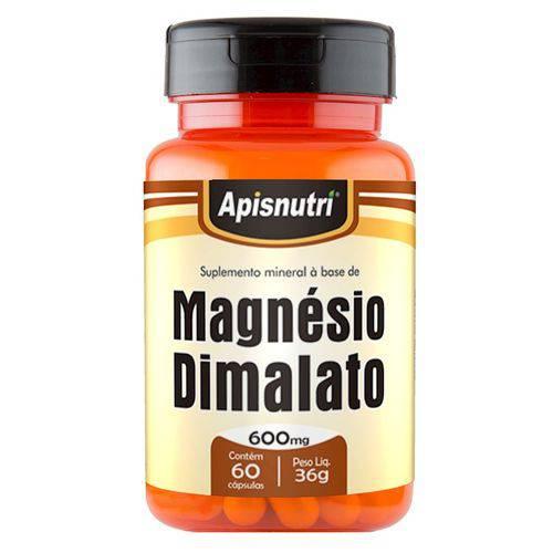 Magnésio Dimalato 60 Caps 600mg