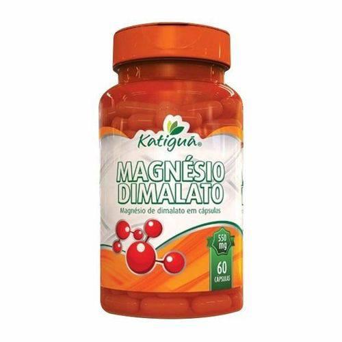 Magnésio Dimalato - 60 Cápsulas - Katiguá