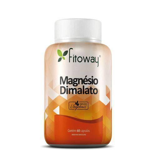 Magnésio Dimalato Fitoway 60 Cáps