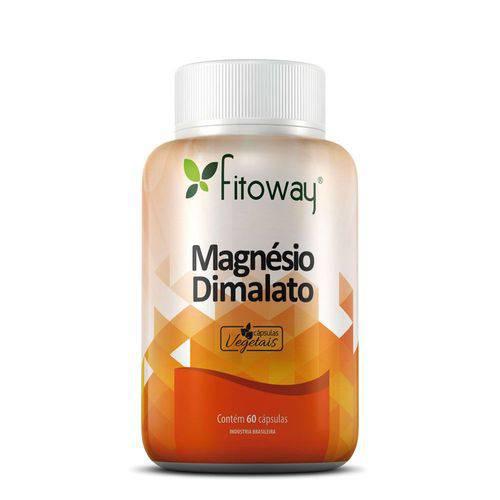 Magnesio Dimalato Fitoway 60 Caps