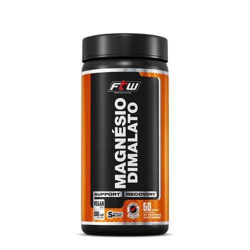 Magnesio Dimalato Ftw - 60 Caps