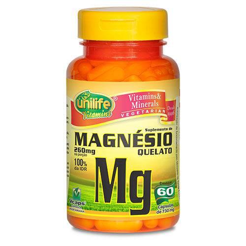 Magnésio Mg Unilife 60 Cápsulas