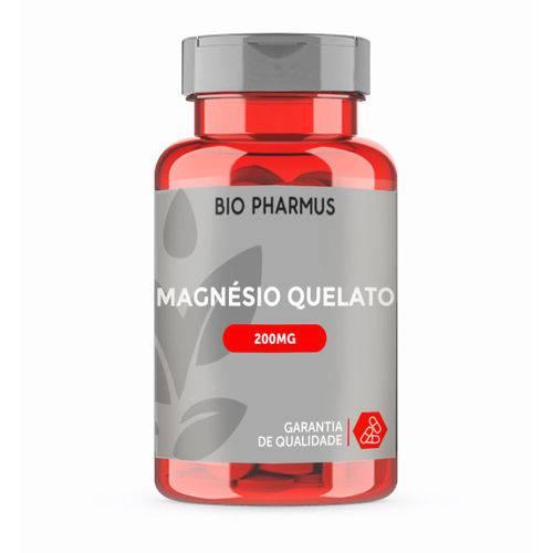 Magnésio Quelato 200mg 30 Cápsulas