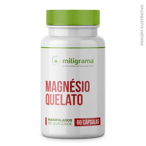Magnésio Quelato 200mg 60 Cápsulas