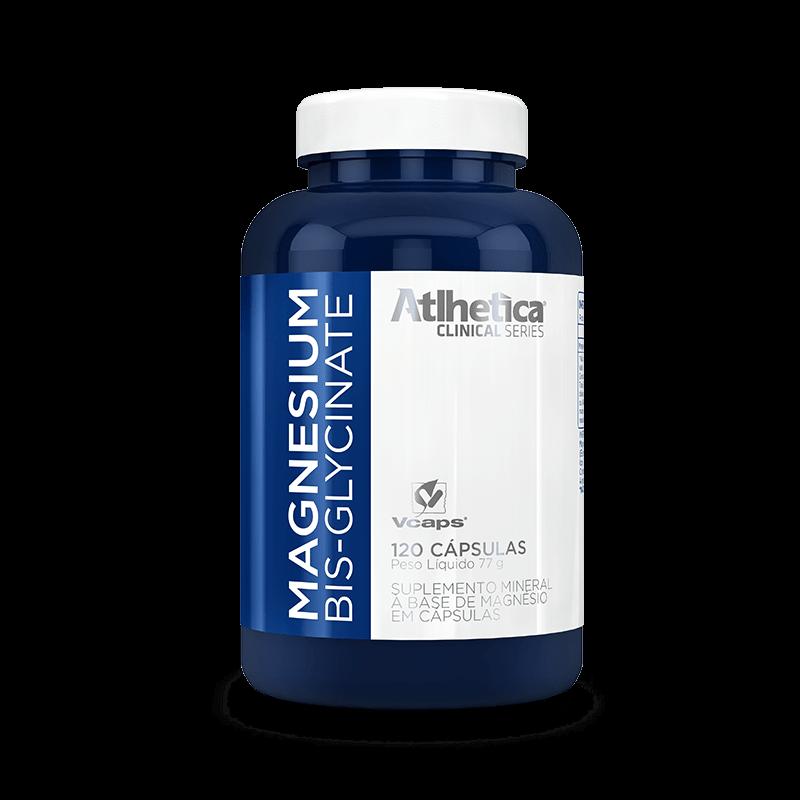 Magnesium Bisglycinate (120caps) Atlhetica Nutrition